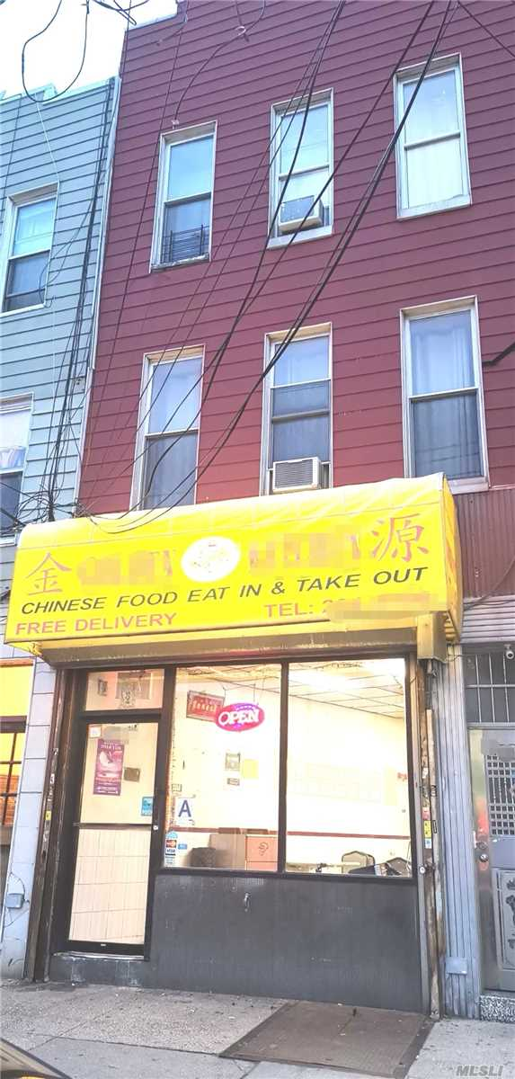 Mixed Use 1 Store+2 Family Building. 2 Minutes To N/W Train, M60 Bus To Manhattan/Lga Airport, 5 Minutes Walk To Q18/Q19/Q102 Bus. Zoning C4-3, Huge Potential For Developers! 1Fl+Basement: Busy Chinese Restaurant(Mls 3102251), Can Be Sold With The Building. 2Fl:3Br, 1Ba, 1Lr/Dr, 1Den,  Mint Condition, Can Be Delivered Vacant. 3Fl: 3Br, 2Ba, 1Lr/Dr, Mint Condition, Can Be Delivered Vacant.  5% Cap Rate For The Building. All Info Deemed Accurate Must Be Re-Verified By Buyer(S).