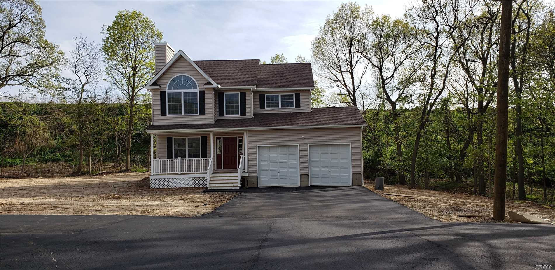 Beautiful Brand New Construction With Attention To Detail! Open Floor Plan With Gorgeous Granite Kitchen And Plenty Of Room For Entertaining. This Home Boasts Crown Moulding, Wood Flooring, Fireplace, All Energy Efficient And Large Full Basement With 8 Ft Ceilings. Absolutely beautiful! *For GPS use Midvale Ave. Port Jefferson Station*
