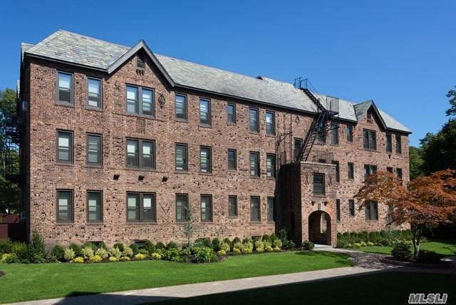 Historic 1935 Tudor- Style Building. 1&2 Bedrooms Including Heat & Hot Water. Professional Landscaping, Paver & Bluestone Walkways. New Designer Lobby & Hallways. Tuscany-Style Kitchen Cabinetry, Granite Countertops, Stls Appl, Dishwasher & Microwave. New Windows & Doors, Ceiling Fans, Hi-Hat Lights