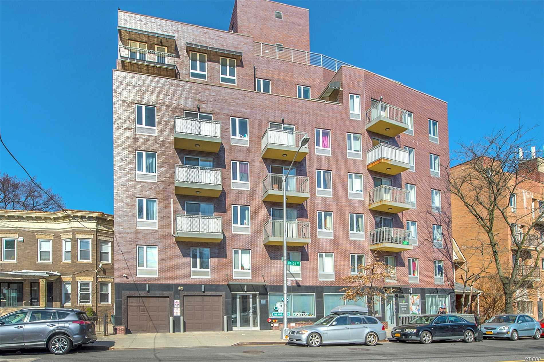 Sale May Be Subject To Term & Conditions Of An Offering Plan. 3Brs 2 Bath With Terrace, Stainless Steel Appliances Washer And Dryer Installed In Unit, Lower Property Tax And Common Charge, 7 Years Remaining Tax Abatement, 10 Minutes Walking Distance To Main St., 7 Train. Close To Supermarket, Buses, Library, Park & School, Great For Living & Investment.