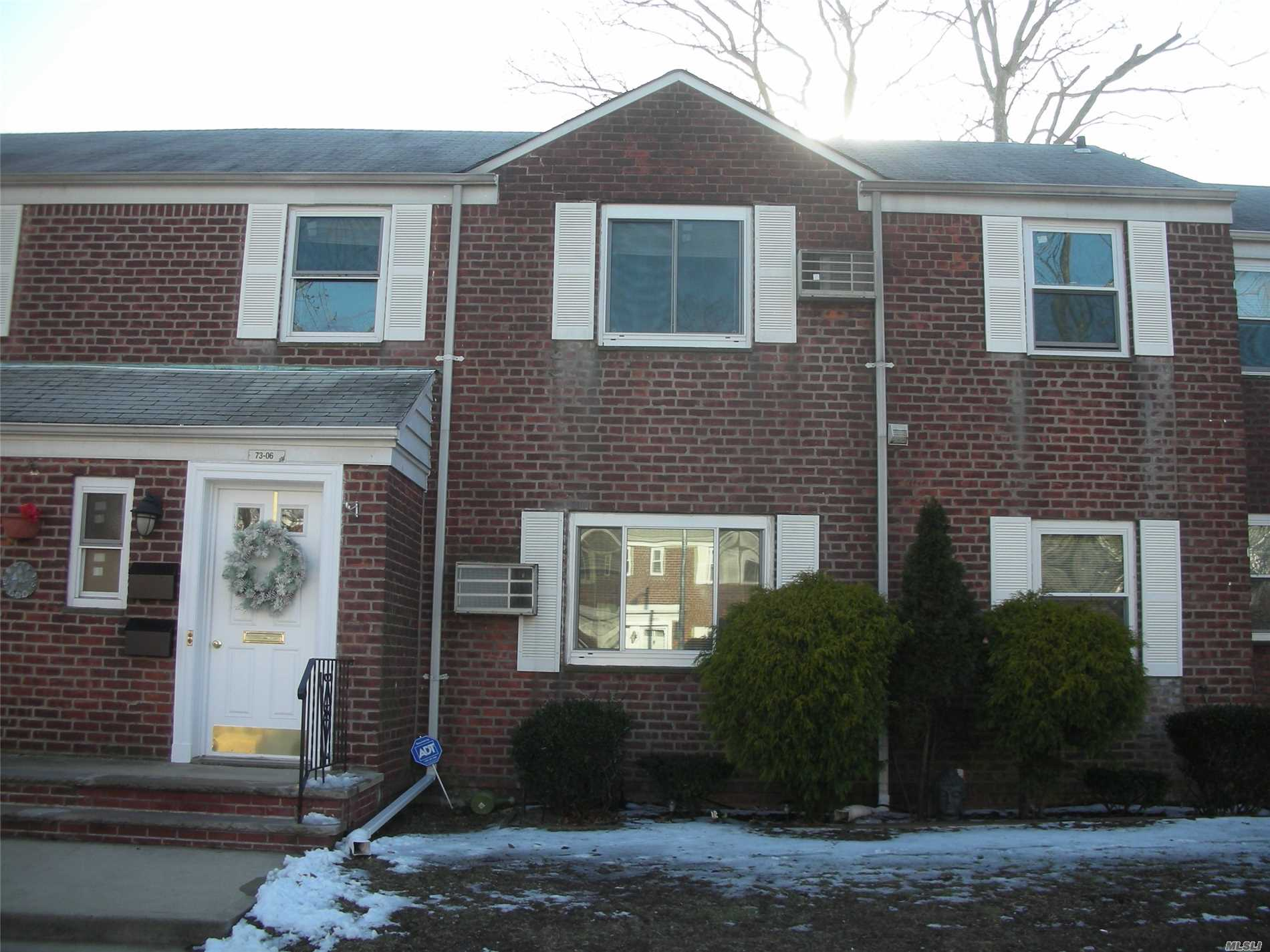 Large Upper 2Br G, Recessed Hi Hat Lighting In Lr And Kitchen, Kitchen Has 42 Custom Mica Cabinetry And Breakfast Bar, Double Slider Closet In Master Br, White Tiled Bath, Pull Down Stairs To Large Storage Attic, 1 Block To Local And Express Buses.