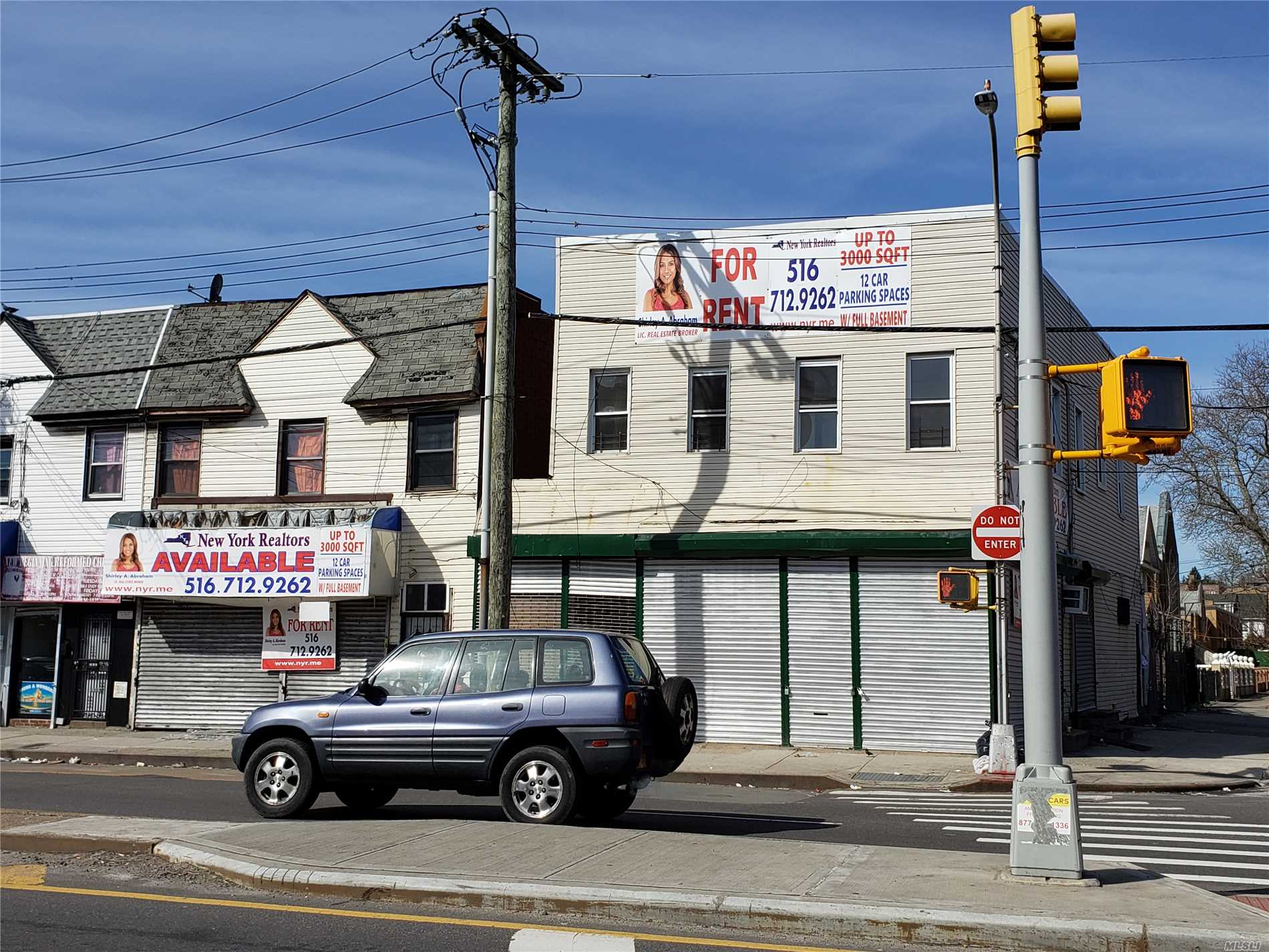 3000 Square Feet Corner Property In The Heart Of Hollis Ideal For A Franchise / Grocery Store / Bank With 12 Parking Spaces An Additional $200.00 Per Spot Close To House Of Worship Shops Schools