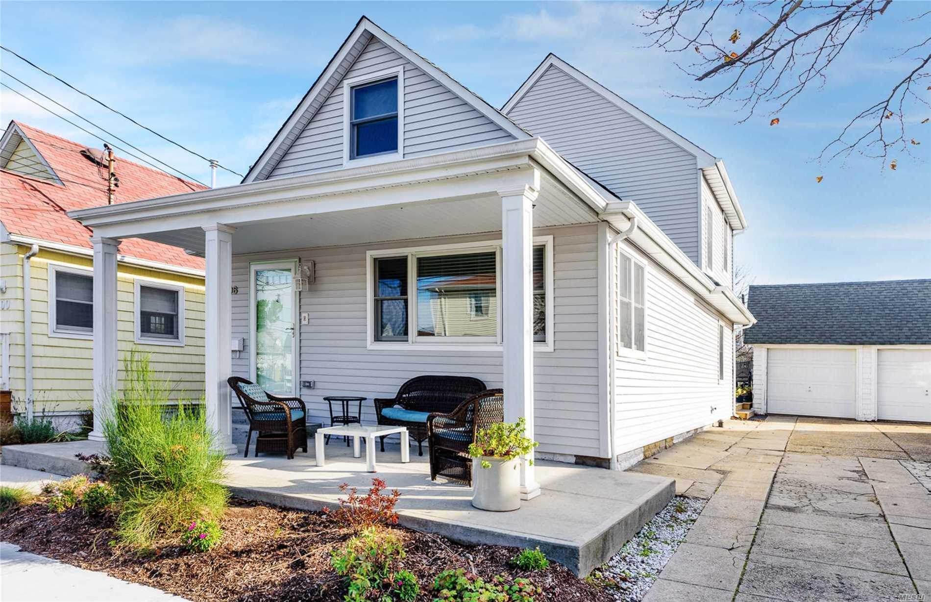 The Perfect Beachside Summer Rental! Newly Renovated Home! Kitchen With Stainless Steel Appliances, New Bathrooms, New Flooring, Open Concept, Spacious Master Suite With Master Bath. Total Square Footage Is Approximately 1700Sqft. Outside You Have A New Deck With Plenty Of Space To Entertain, Outdoor Shower, And A Driveway That Can Hold Four Cars Easily. Location Is Amazing, Half A Block From The Ocean, As A Resident You Have Beach Access And Cabana Storage Available. Come Live By The Ocean!