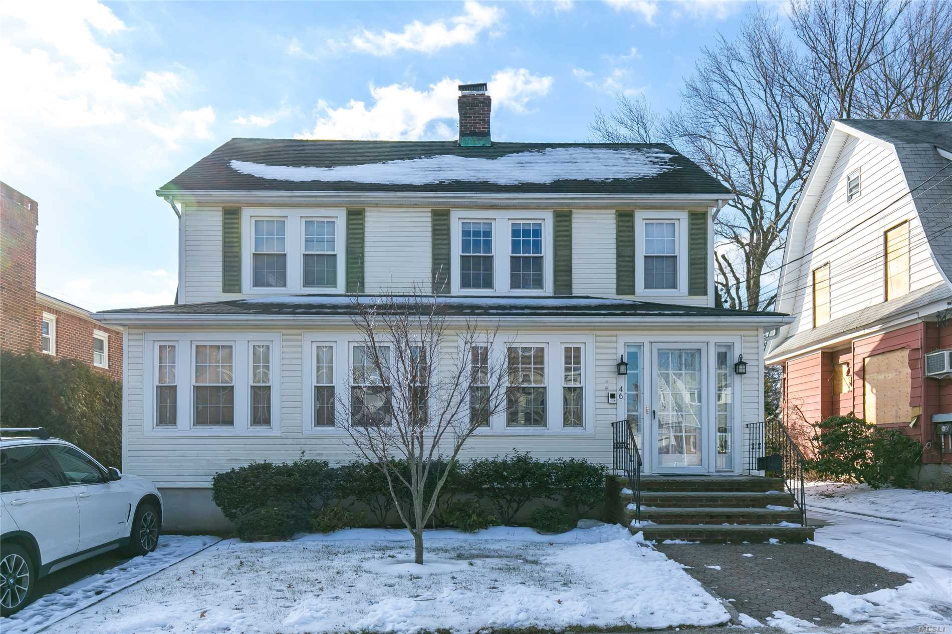 Spacious, Sun-Filled, 3 Bedroom, 2 Bath Apartment In Port Washington. 4 Blocks To Long Island Railroad And Town. Large Master Br W/ Master Bath. French Doors Leading To A Private Backyard. Two Additional Bedrooms And A Second Full Bath. Large L-Shaped Living Room/Dining Room. Large Eat In Kitchen. Partially Finished Basement With Washer/Dryer And Great Storage. 2 Car Garage. Cac. 30 Minute Direct Commute To Nyc. Award Winning Schools. Pets Considered With Extra Security.