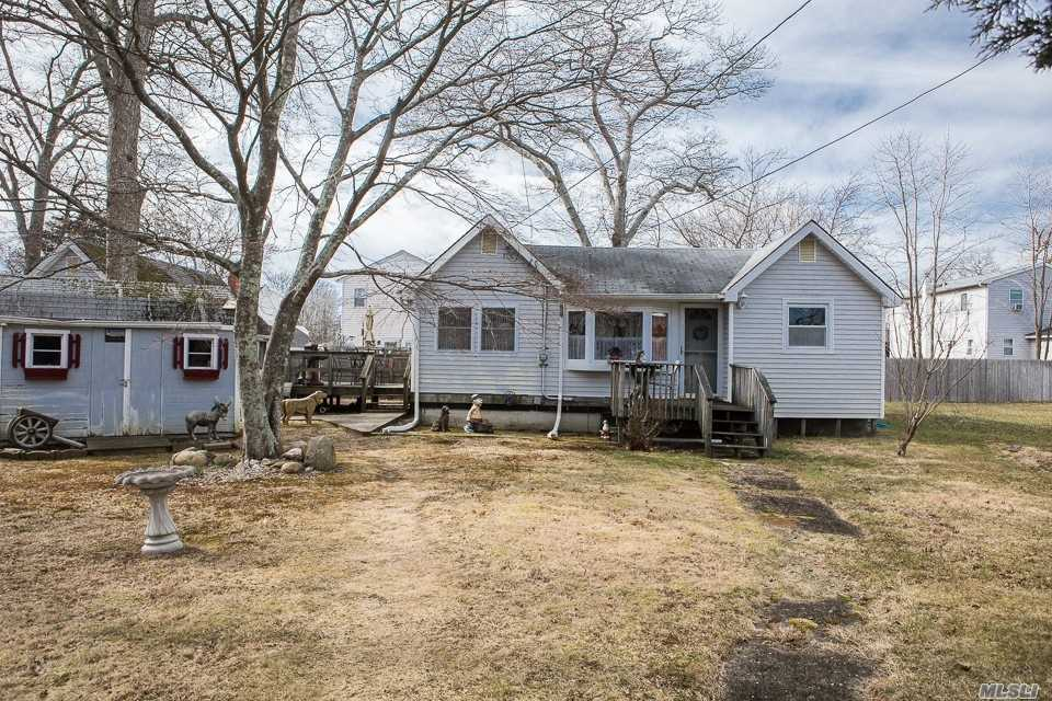 This Is A Perfect Starter House Or If Your Looking To Downsize, This Is The One ! Large Lot 80 X 100 . Large Detached Garage. Super Low Taxes, $3, 800 A Yr W Basic Star. No Flood Insurance Required Why Rent When You Can Own !