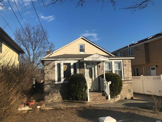 Excellent And Cozy Bungalow Home In Franklin Square School District #17, Featuring Lv/Fdr, Updated Kitchen, 4/5 Bedrooms, Updated Bath,  Finished Bsmt W/Ose, 6 Years Young Roof, New Windows, Gas Heating System, Tons Of Storage, Convenient To All Shopping And Transportation.
