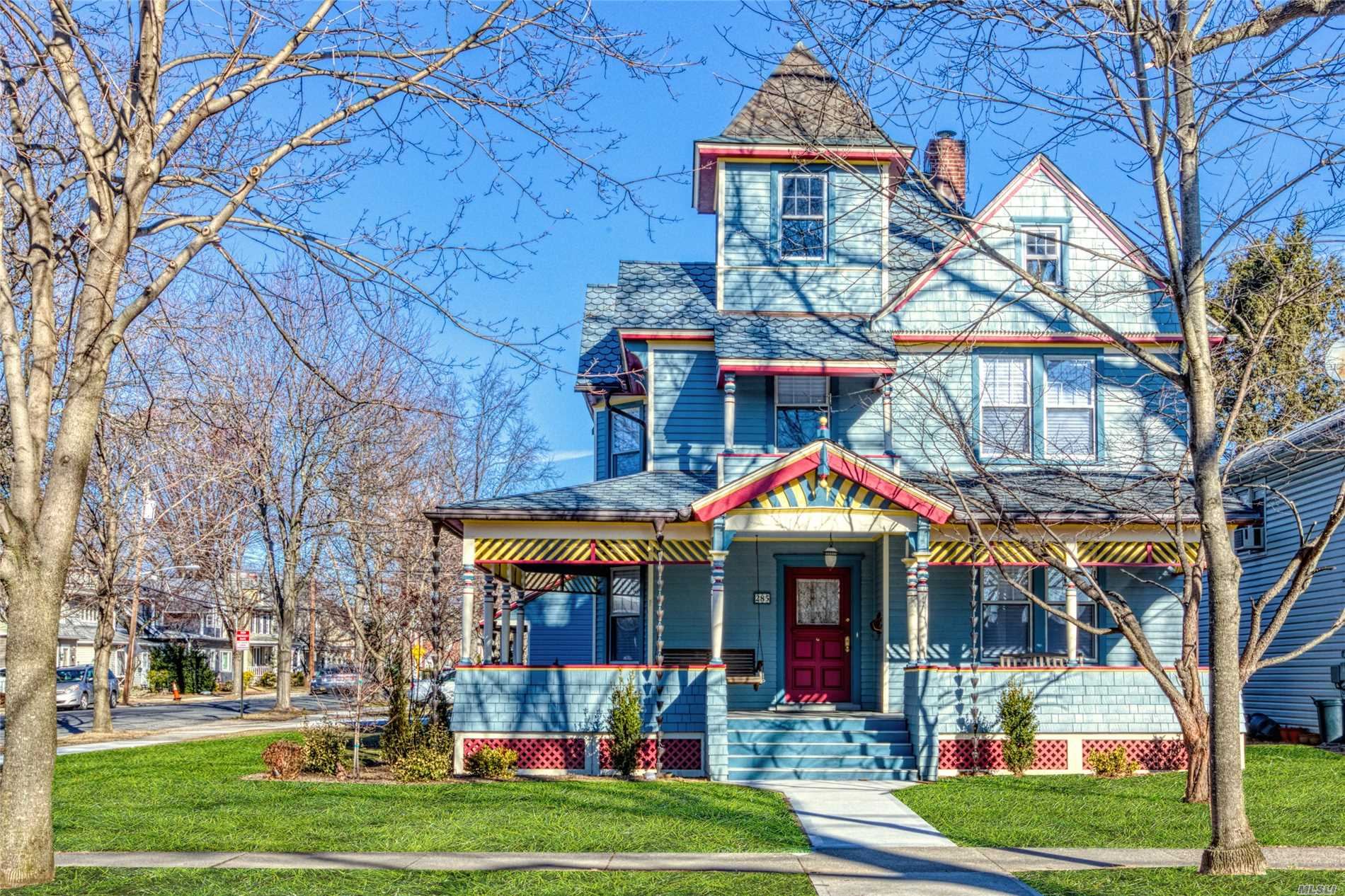 This Historic Victorian Home Is A Perfect Mix Of Classic And New!! Original Period Architectural Details On The Exterior/Interior Have Been Preserved. Inviting Front Porch/W Swing Bench, Hardwood Floors Throughout, Original Pocket Doors, Fireplace(Wood), 2 Staircases Between 1st/2nd Floors. Modern Improvements Include Top Of The Line Kitchen, Quartz Countertops/Island And Frigidaire Gallery Appliances. Updated Electric 200 Amp, Heating(New Furnace), New Hot Water Tank-50 Gallon.