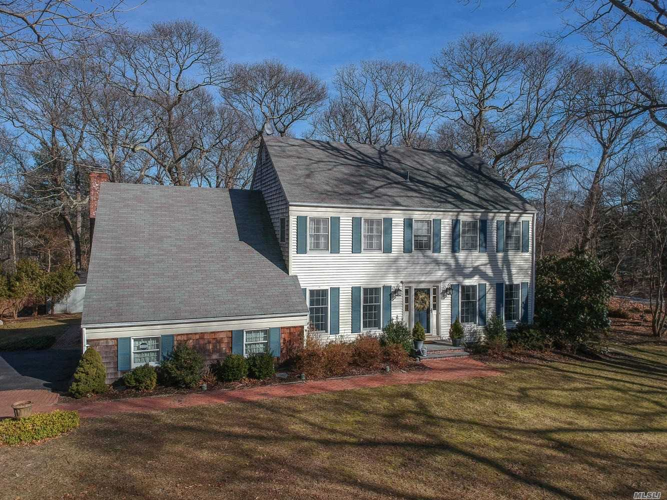 Gorgeous Newly Renovated Colonial Nestled In A Cul-De-Sac Located In Soundview Acres. Featuring Hard Flood Floors Throughout, A Custom Kitchen, Laundry On The Main Level, And A Finished Basement. Situated On Almost An Acre There Is Plenty Of Room For A Pool In The Private Wooded Yard And Less Than A Mile To The Beach.
