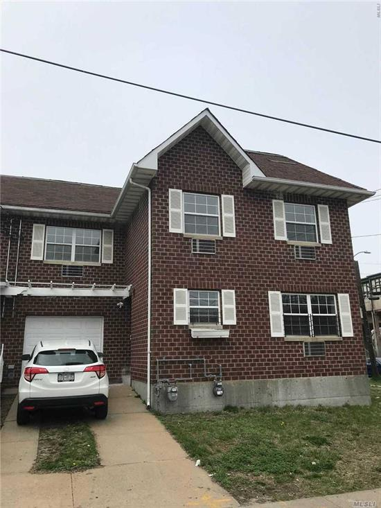 All New, Move In 3Br With Master Br, 2 Full Bath. Living Room, New Kitchen Cabinets. Balcony. Hardwood Floors, New Windows. Private Driveway, Backyard. The Best Location. Close To Subway Station, Bus Stop, Shopping Center. Walking Distance To Ocean Beach.