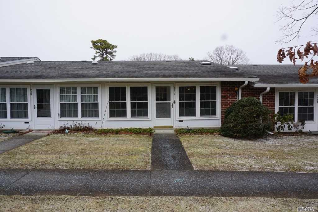 Great Opportunity To Own In Leisure Village. Spacious Two Bedroom, 1 Bathroom Condo With Large Living Room, Kitchen And Dining Area And Screened In Porch.  Amenities Include Swimming Pool, Golf Course, Fitness Room, Game Room, Woodshop, Etc.  Too Many Amenitites To List