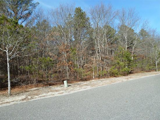Great Property To Build A Wonderful Home In The Prestigious Southampton Pines Area. This Treed And Rolling Landscaped Property Of 1.67 Acres Is In The East Quogue School District. Come Take A Look At Your Next Dream Home To Be Built.