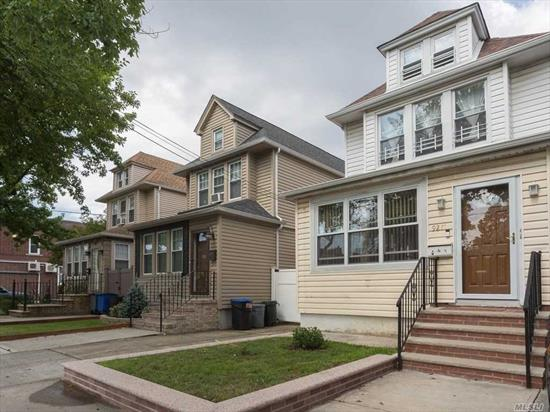 Legal Use With Co 2 Family. Kitchen On The 2nd Floor Can Easy Be Convert Bedroom. Total Bedroom Is 4 Bedroom. Basement And 1st Floor Building Size 16X44