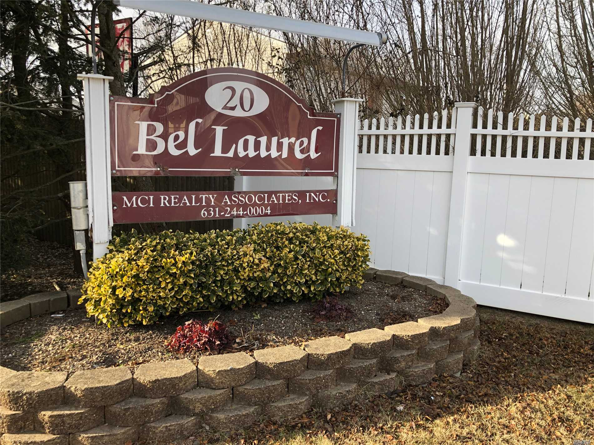 Come See This Lovely Co-Op. Meticulous Unit With Great Light. Large Living Room With Big Picture Window. Large Bedroom With Walk-In Closet. Now Is Your Chance To Live In Bel Laurel. This Is The Only One On The Market!