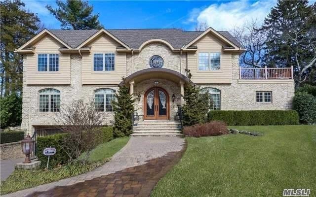Elegant Custom Built Colonial In Prestigious Lake Success County Club. It Combines The Best Of Present Day Amenities With Fine Workmanship And Highest Quality Materials. Soaring 2 Story Entry With Bridal Staircase. Custom Eat-In-Kitchen With High End Appliances. Hardwood Floors With Radiant Heating. Heated Driveway, Walkway & Garage. Private Elevator, Police, Golf, Pool, Tennis, South Schools