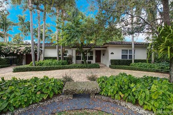 Finally A Perfect Waterfront Home Completely Renovated (Except Kitchen) With A Boat Lift And Dock. Set On A Lush Tropically Landscaped Lot In A Close-In Neighborhood With A Brick Circular Driveway, Copper Gutters, Beautiful Iron Gates, California Shutters Throughout, Newly Installed Led Lighting, A Digital Security System With Perimeter Outside Cameras, 2 New Ac Units, Gorgeous Built-Ins In The Family Room/Den, An Irrigation Watering System In The Trees Plus A Water Filtration. Enjoy Outdoor Living In The Covered Patio Or Swim In The Pool With Separate Jacuzzi While Overlooking The Serene Canal.