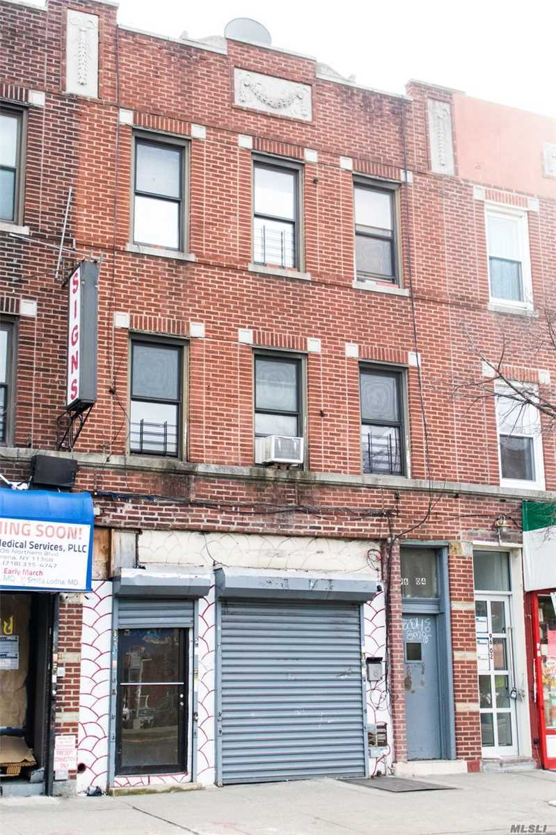 Welcome To 96 Northern ! 3 Story Walk Up With Great Potential. R6A Zoning Allowing For Upward Expansion. Layout: Store Front (Vacant) Projected Income From Store ($7, 000) 2nd Floor: Studio Apartment (Occupied), 2 Bedroom Apartment (Occupied) 3rd Floor: 2 Bedroom Apartment (Occupied)