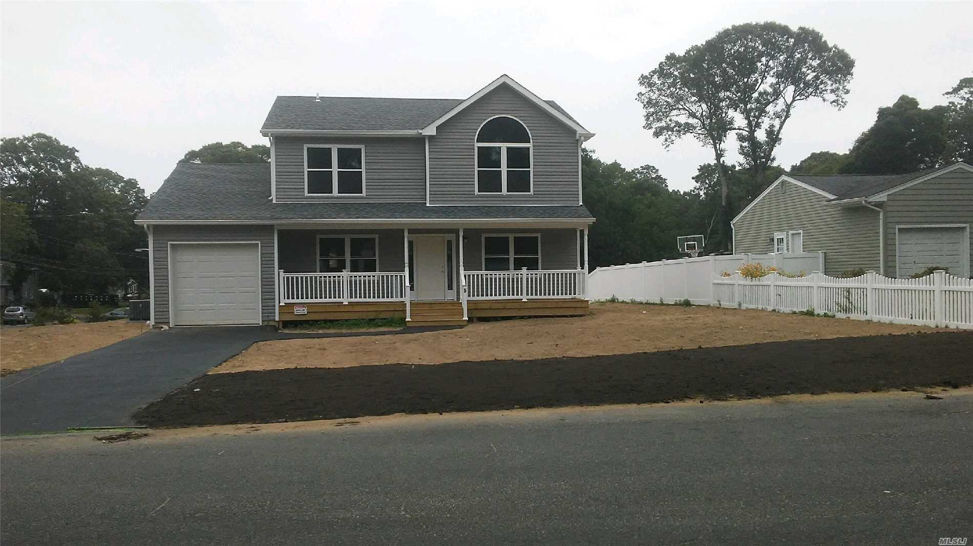 New Colonial Features, Entry Foyer, Formal Dr, Formal Living Rm, Eik, Family Room, Laundry Rm, Master Suite W/Full Bath, 3 Additional Bedrooms And More Full Baths !