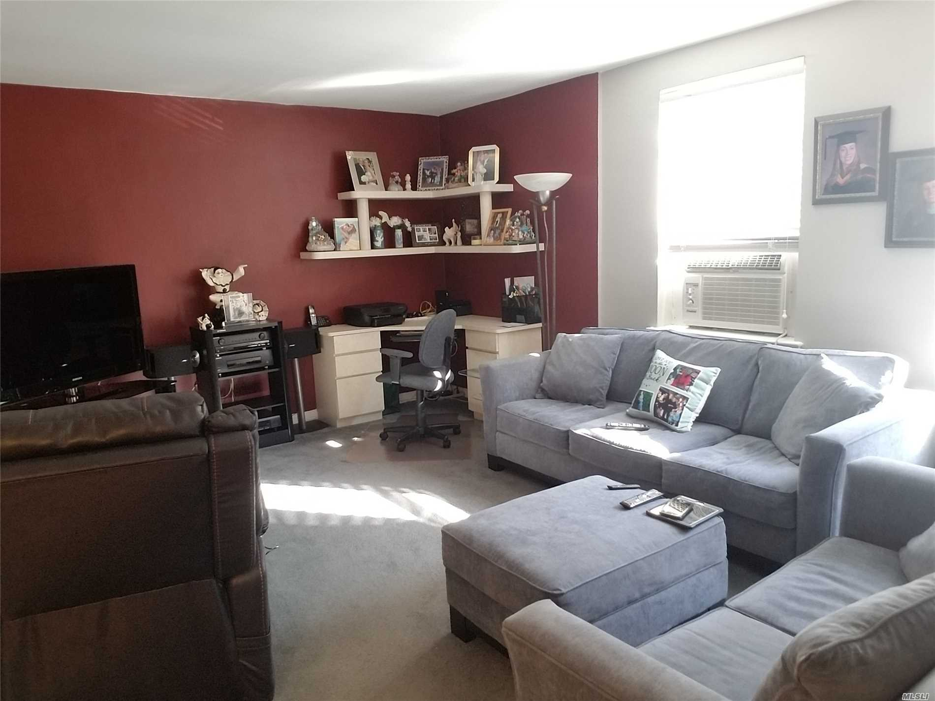 Bright & Spacious 2 Bedroom Unit On The Top Floor! Large Living Room And Large Master Bedroom. New Kitchen Appliances And Renovated Bathroom! Close To Lirr, Busses, Park Highways And Shops! There's A Waitlist For A Spot In Garage ($50/Mo). Income Requirement Is Debt To Income Ratio 28% Or Less. No Flip Tax! School District 26. Must See!