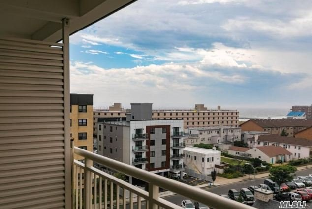 Live In The Sky In Your Own Penthouse Level Home W/Phenomenal Ocean, NY City Skyline, & Magnificent Sunset Open Views! Just A Block From Beach, Enjoy Your Bright, Comfortable Jr. 1/1 Bedrm W/Hardwd Floors, Updated Bath, Good Clsts & Private Terrace To Watch The World! Lndry Down The Hall. Gym On 1st Fl. Common Yard W/Outdr Shower & Bbq. Cats Ok. Prkng Waitlist. Beach Chair & Bike Stg, Beach, Shopping, Restaurants Near. Bus To Lirr+. Low Maint. Why Wait Or Pay Rent?! Make Offer! Why Rent!