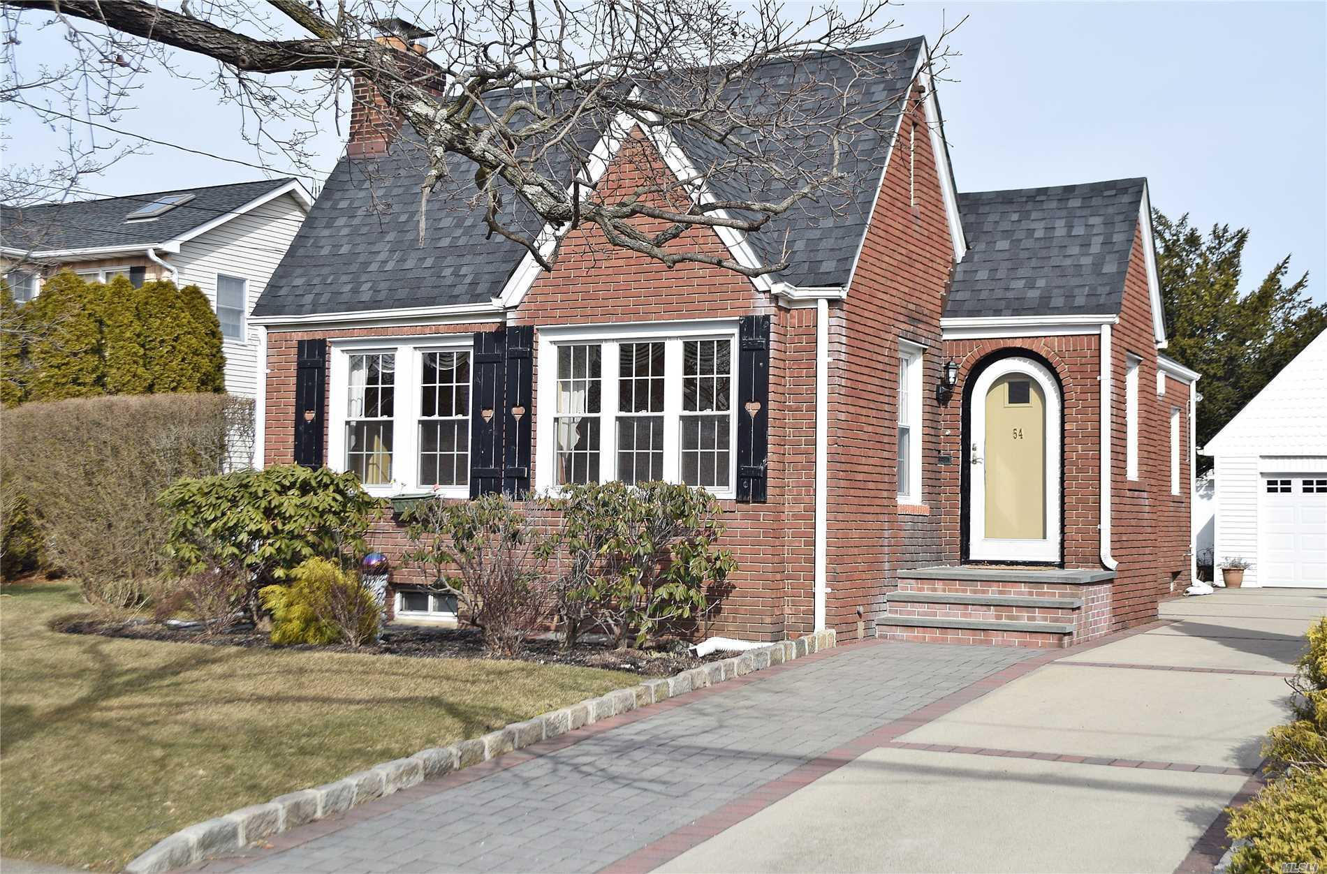 Unique One Of A Kind Picture Perfect And Charming Brick English Style Home With Large Private Yard And Located On Tree Lined Street in School District 13. Great First Home Or To Downsize, Also Offers Ample Property for future Expansion. Truly a special home and a must see.