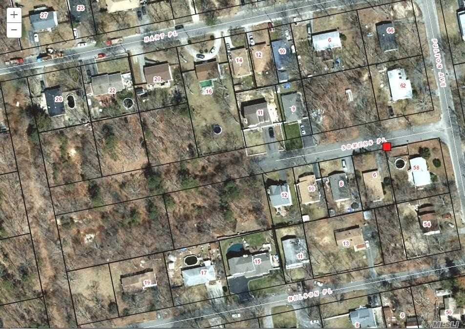 Large Lot North On Somers Place. This Is Lot 37 , Can Be Sold With Lots 38, 39. Perfect For Builder.
