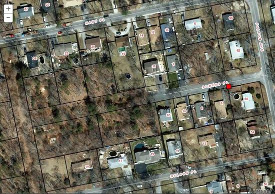 ! Large Lot South On Somers Place. Possibly Split Into Two Lots. This Lot 39 Can Be Sold With Lots 37, 38. Perfect For Builder.