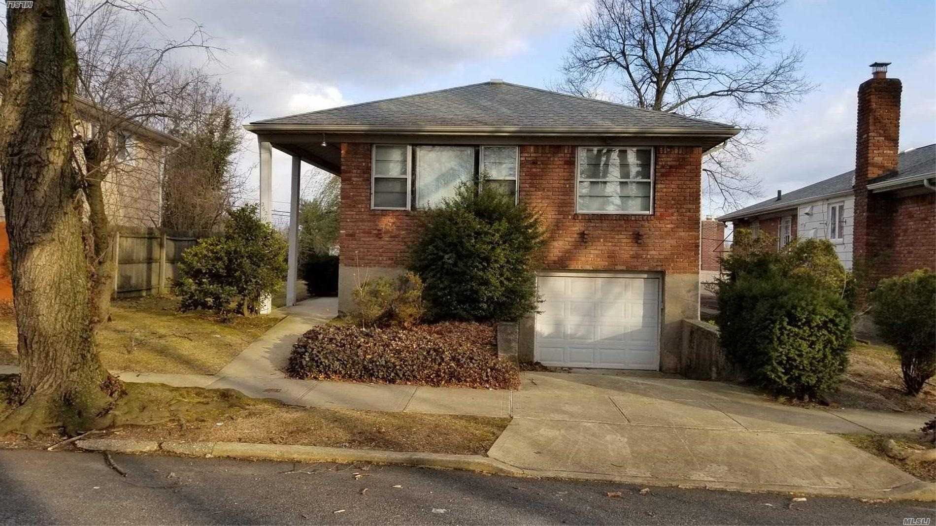 Spacious Brick Raised Ranch With Lots Of Potential Facing South Sunny With 3 Bds 2 Full Bths Full Basement Hard Wood Floors New Roof Large Private Yard Convenient Located Near Transportation And Shopping .Perfect For Some One Looking To Renovate And Add Their Personal Touch.