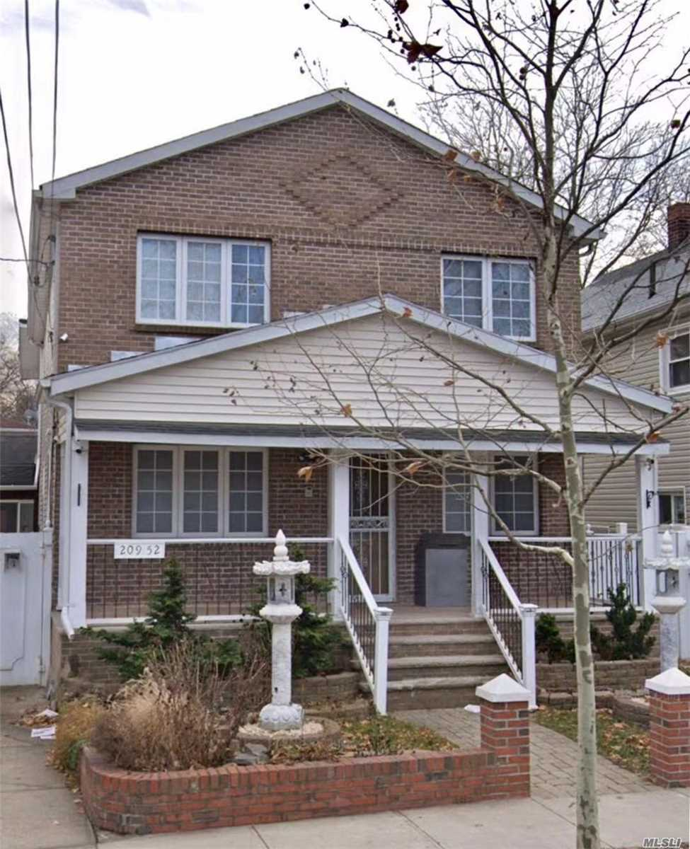 Prime location in bayside, just corner of Ms. 158, Ps. 31, 2 Blocks of northern blvd. New renovation, all utilities included. 1st. Floor, allows use Washer and dryer machine. Must to see!