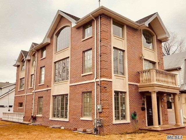 New Construction Built In 2018.  Custom Luxury Colonial Brick House. Each Floor Size 1380 X 3. Floor Has Heating System. On The 1st Floor Can Be Changed For Dr's Office. Large Living Space And 17 Ft Hi-Ceilings!!! More !!
