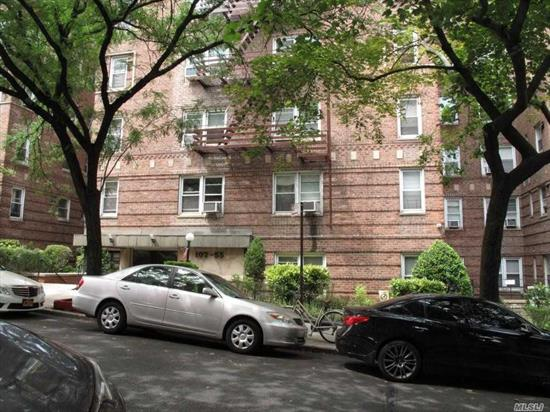 Sale May Be Subject To Term & Conditions Of An Offering Plan. 1Block From Subway, Btw Queens Blvd & Yellowstone Blvd. East Exposure Sunny Two Bed Rooms, Large Living Room, Lots Of Closets, Parquet Hard Wood Floors. Elevator, Laundry And Pet Friendly With Board Approval, Assessment $104.88 Ending Aug. 2019
