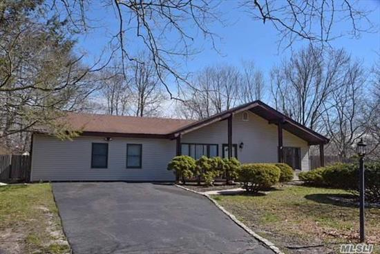 This Is A Very Well Maintained Home, This Spacious Ranch Features Vaulted Ceilings, High Hats, Updated Appliances, Updated Burner & Hot Water Heater, Cozy Den W/Stone Walled Fireplace And A Huge Master Bedroom. Large Level Fenced In Yard With Newer Shed And Igs. Oversized Driveway, Cac, Natural Gas And Sewers.