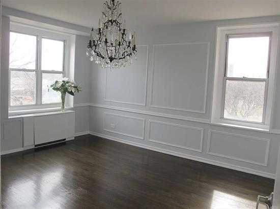 Huge, Bright And Renovated 3 Br 2 Full Bath, Beautiful Layout, Dedicated Indoor Garage.Corner Unit Facing South, East & North West.Distance To Community Pool, Tennis Ct, Bay Terrace Shopping Center, Restaurants, Stop&Shop Supermarket, Direct Bus To Manhattan, Qm2, Qm32, Q28 To Flushing, Q 13 To Lirr. Distance To Fort Totten Park By The Water And Easy Access To Major Transportation. Financial May Not Exceeds 80% From Selling Price.All New Appliances.Washer& Dryer may approve by Board