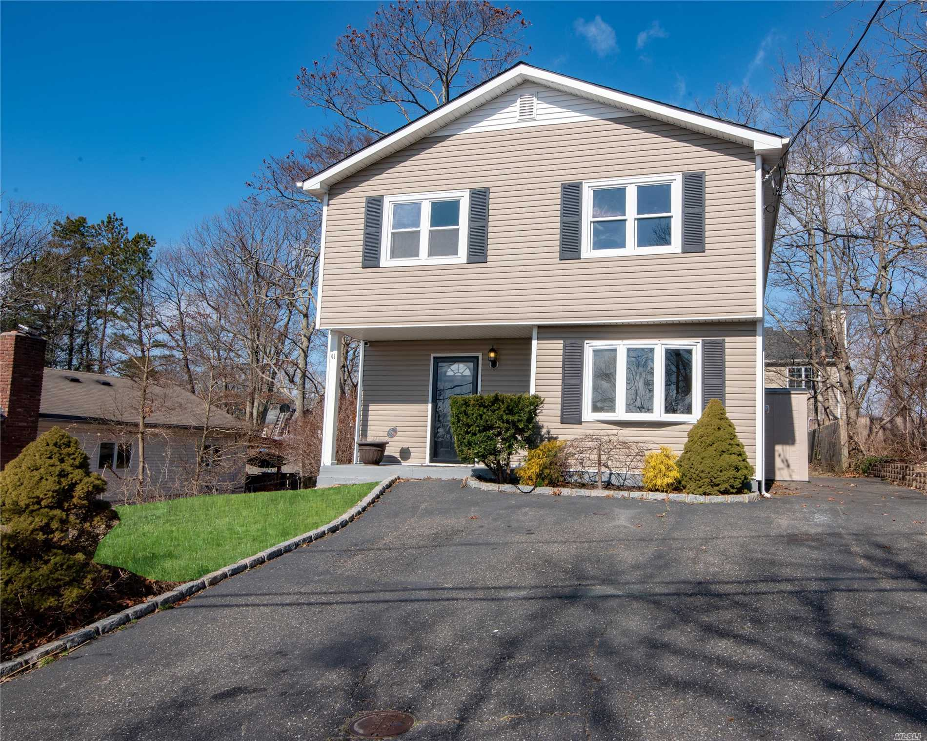 Spectacular Colonial With All The Bells And Whistles. Fully Renovated With Granite/Cherry/Steel/Mosaic Splash Kitchen/Updated Baths/Updated Flooring/Full Exterior Reno With Windows Roof And Siding Done/Double Wide B Block Driveway/And So Much More