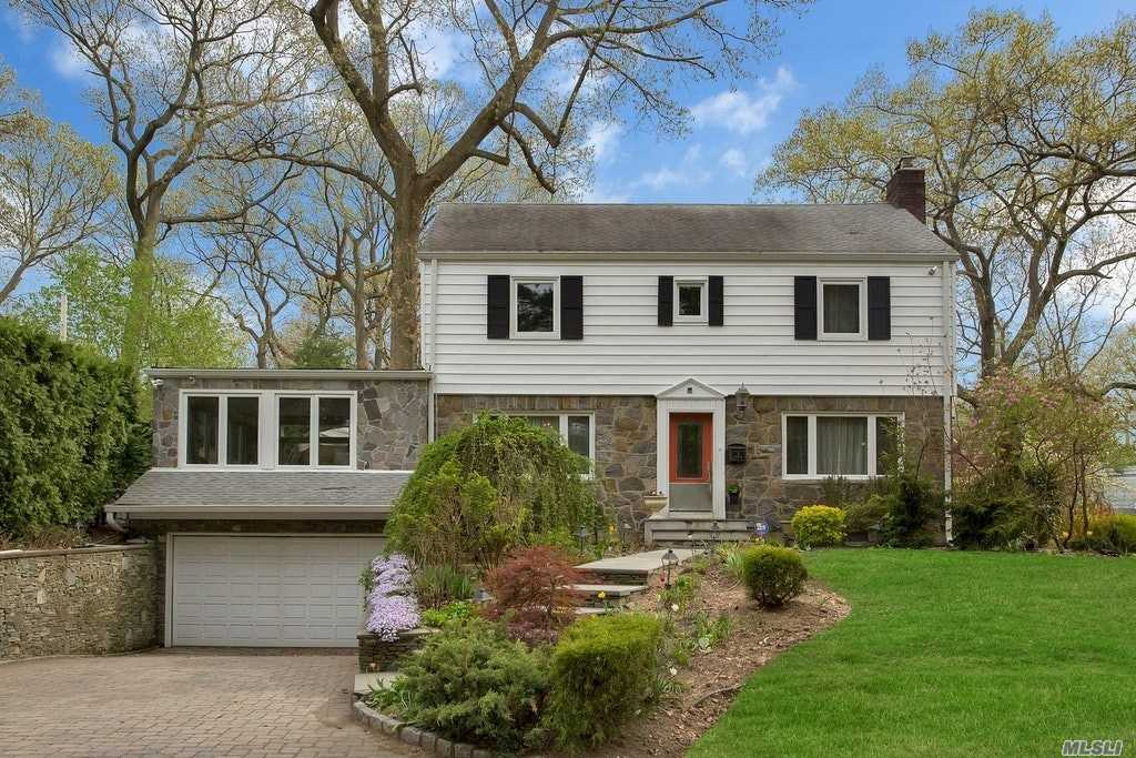 Magnificent Updated 4 Bedroom Colonial. Spacious Rooms Through Out. Bedroom On The Main With Den. Eat In Kitchen And Beautiful Great Room Overlooking A Beautiful Yard With Custom Kitchen And Patio. Full House Generator And Heated Driveway. Great House For Entertaining. Port Washington Train Sticker. Close To Shopping & Restaurants. Wont Last!!!