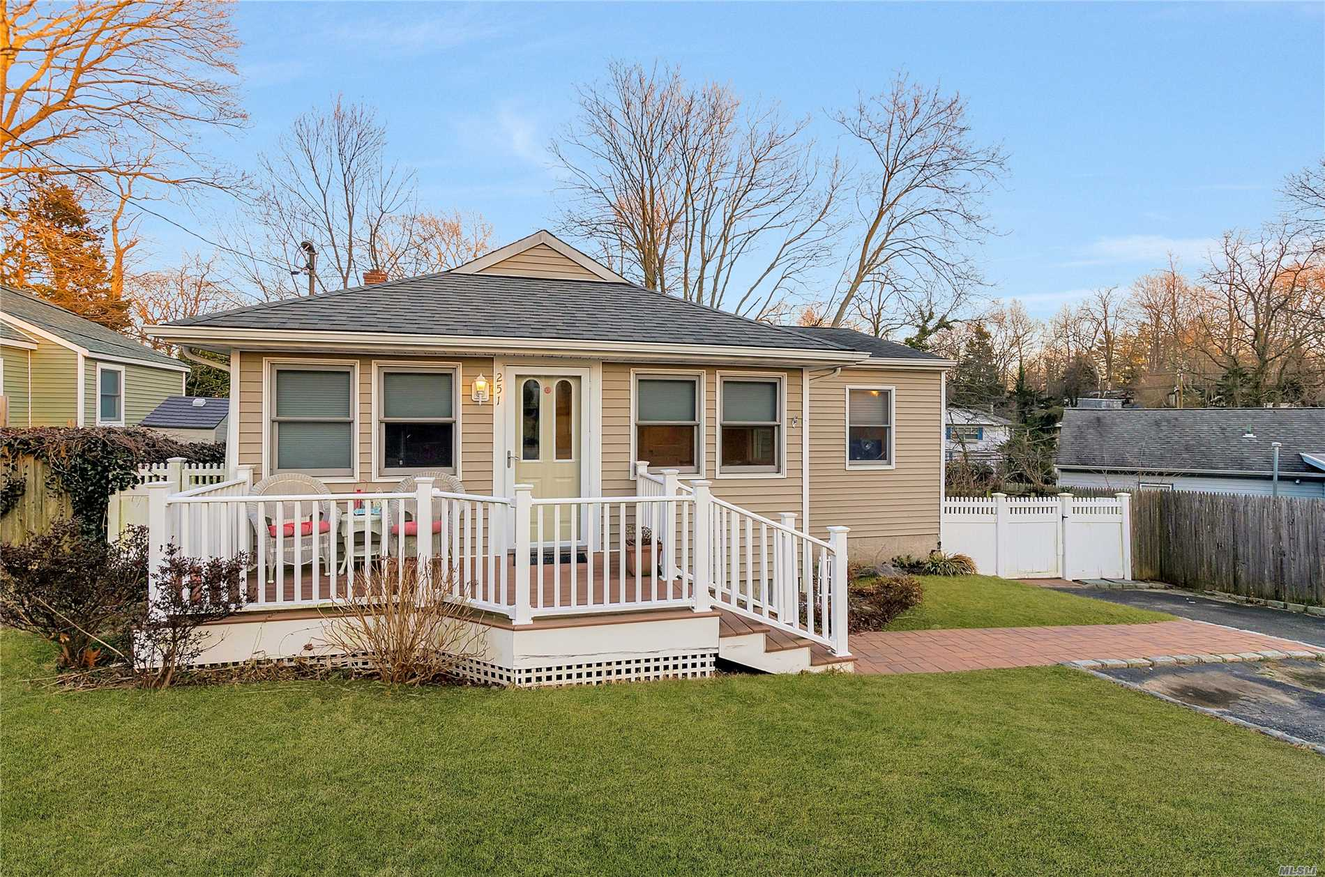 Beautiful Ranch Features: Spacious Open Floor Plan, Living Room With Fireplace, Kitchen With Dining Area, 3 Bedrooms, 2 Full Baths, Laundry Room/ Office Area,  Full Basement With Inside/Outside Entrance, Utilities.