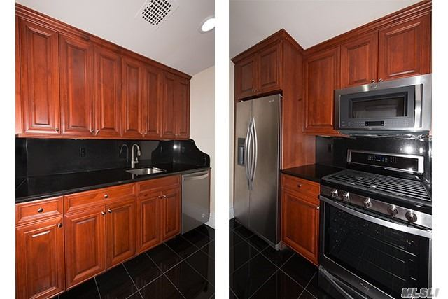 Now New Ownership! Lux Rental Residence Community In Desired Rockville Centre! Renovated Interior To Include Cabinets, Granite Kit Flr & Cntrps. Stls. Stl Appl. 1Br/1Bth. Hi-Hats. Minutes To The Village!@ Granite/Marble Bath, Floating Vanity/Frmls Shwr Drs. 2 Faux Woodgrain Window Tmts. 2-Tone Paint, Gray Carpet.