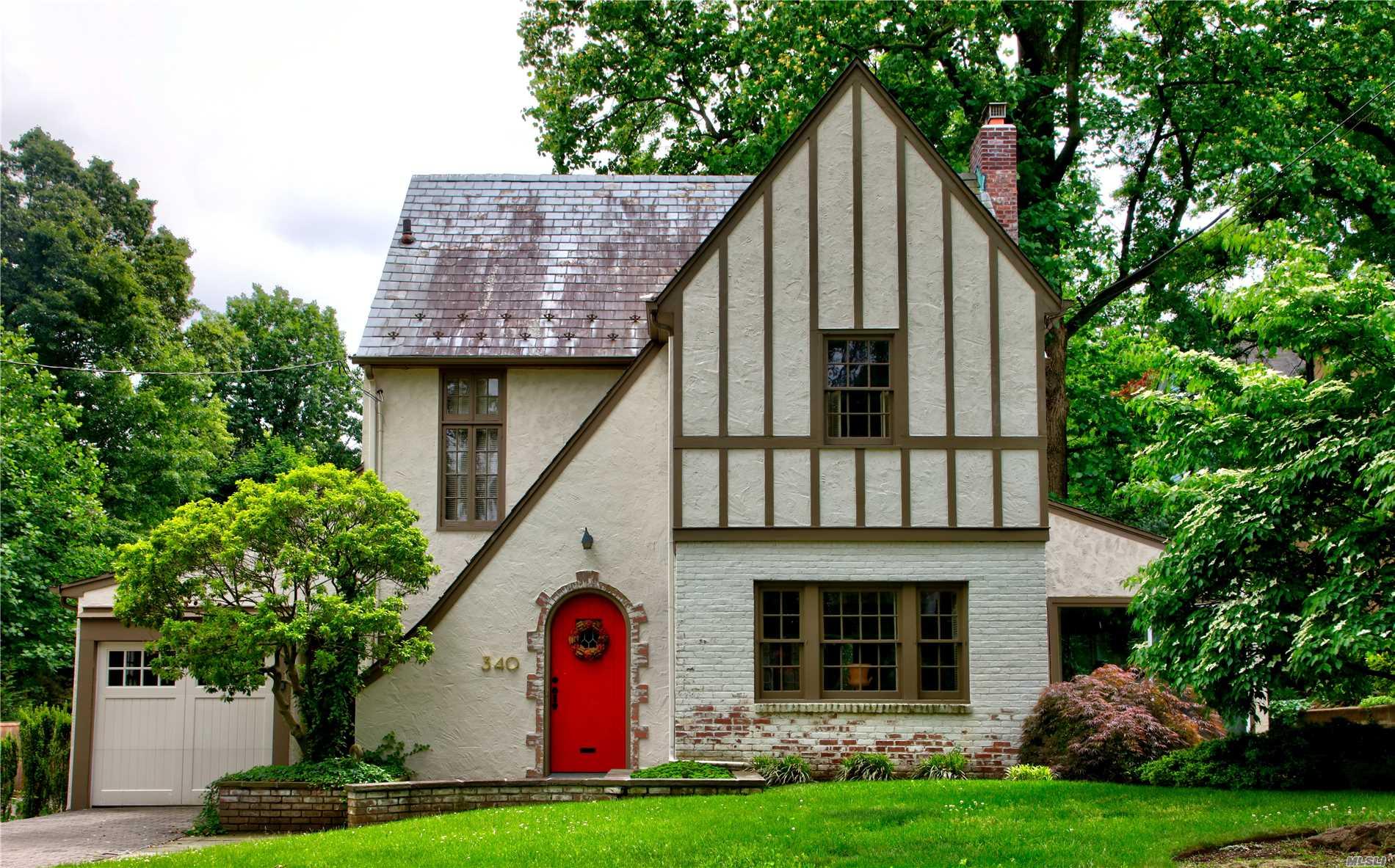 Historic Tudor Within Landmarked Douglas Manor Peninsula.