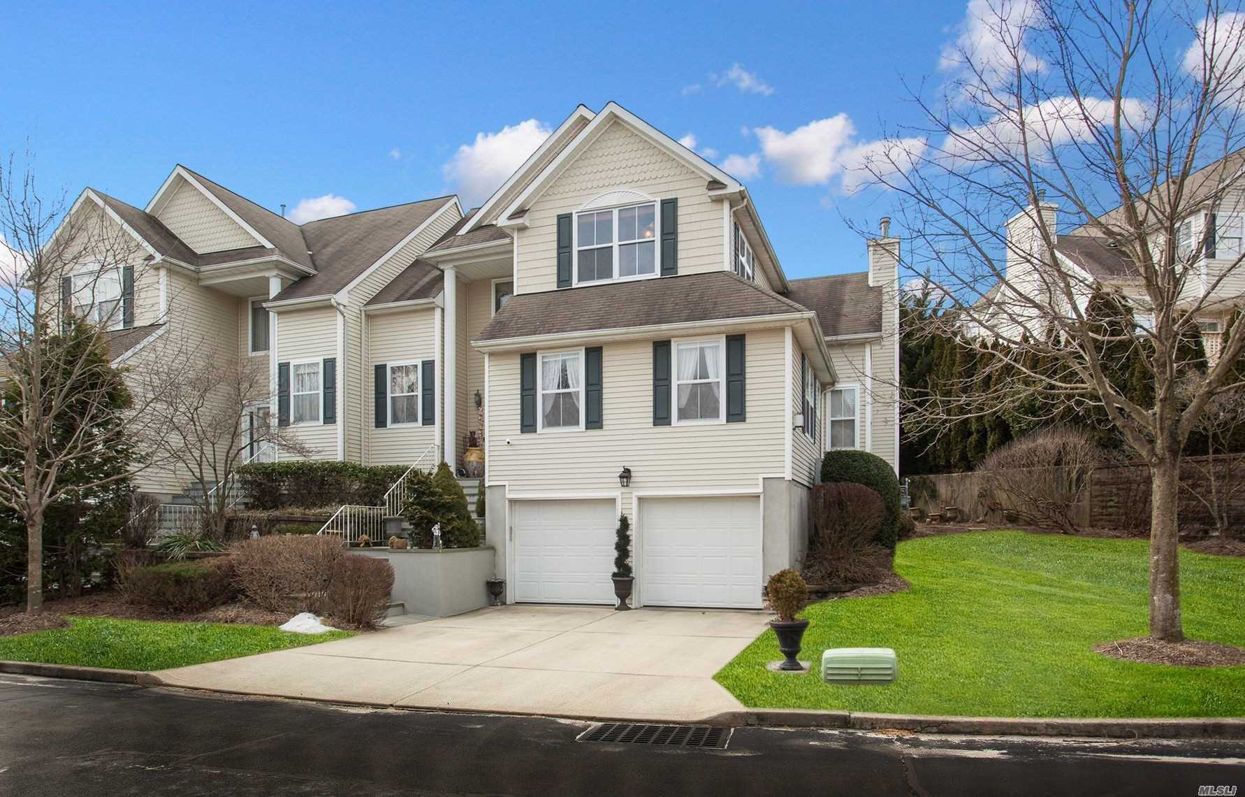 2018 Remodeling Makes This A Turn Key Platnium Residence; Open Flr Plan. Redesigned Eikitchen W/Custom Cabinetry, Ss Appliances, Double-Thick Quartz Center Island & More!; Flr-To-Ceiling Windows, Hardwood Flrs, Master Bdrm Suite W/Jetted-Tub; Private Rear Yard W/Large Deck & Patio, + 5 Adjacent Guest Parking Spaces; Pull Down Attic Storage W/ Flring; Finished Lower Level W/ Two Large Rms + Full Bth. Amenities Include Club House, Pool, Tennis, Fitness Rm, Snow Removal & More + 13-Mo Home Warranty.