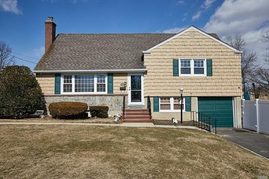 Beautifully Maintained Split Level Home Situated On A Pvt Street W/Low Taxes. 5 Levels Of Living Space Allow This Fine Home To Boast A Lg Living Rm, Fdr, Eik, Office,  Family Rm, & 3 Good Size Brs Including A Master W/Walk In Closet & A Bath On The Same Level, Shared Bath On The Other Bdrm Level & An Addt'l Half Bath For Guests. Updated Elec, Newer Gas Fired Furnace, Inground Sprinklers, Hardwood Flrs, 1 Car Att Garage & Pvt Backyard Complete The Picture,  Move In Ready! Taxes W/Star Under 8K.