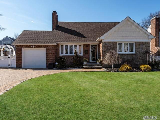 Great House In The Village Of Westbury Completely Updated Brand New Kitchen And Baths,  Hard Wood Floors Throughout, 2 Fireplaces, A 1st Floor Extension That Is Used As A Family Room, Gas Heat, Finished Basement, A Must See !!!!!!
