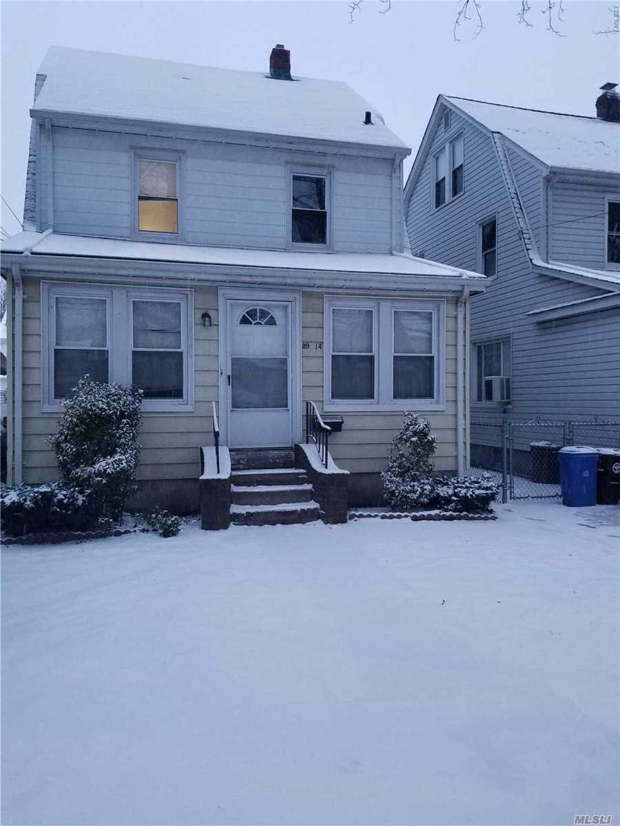 Newly Renovated Colonial Legal 2 Family On A Quiet Tree-Lined Street.Great Investment House.