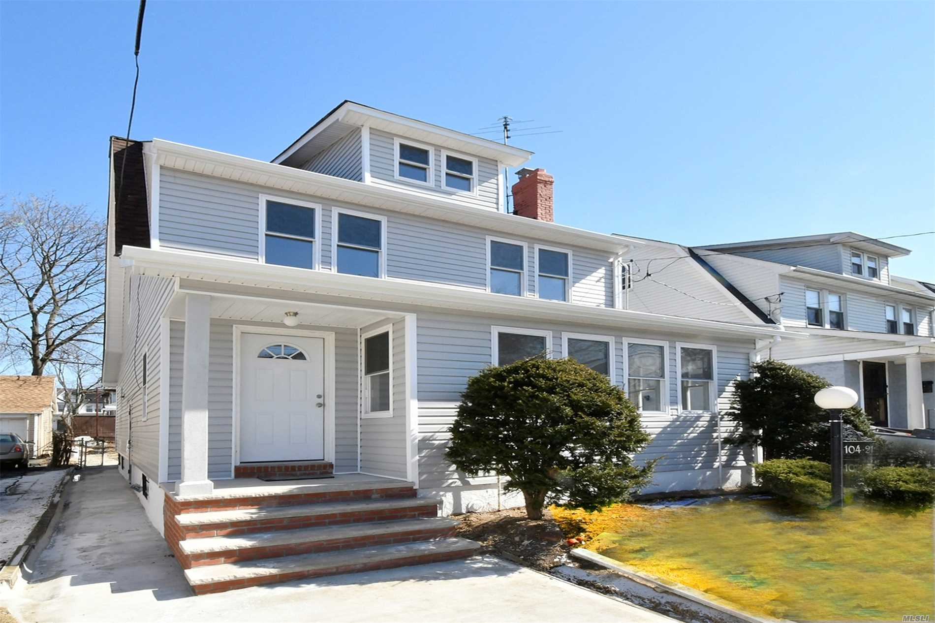 Setup As a 2 family 2, 000 Sq Ft Immaculate Brand New Single Family Colonial Very High Rental Income Property. Totally Renovated Hardwood Floors Throughout The Home, New Driveway, Renovated Kitchen, New Appliances, New Washer And Dryer Brand New Granite Counter Top, New Cabinets, All New Windows, New Siding, New Roof, New Hot Water Heater, Spacious Bedrooms Throughout The Home. Separate Entrance For The First Fl, 2nd Fl And Basement. Amazing Home Nice Spacious Backyard With A Detached New Garage.