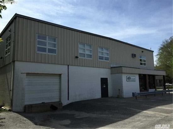Light Industrial Zoning - Check Zoning For Allowable Uses. Village Of Greenport Sewer, Electric And Gas. Unique Industrial Complex Consisting Of Three Building With 8, 400 Sf Of Office And 27, 100 Square Foot Of Warehouse Space. Various Ceiling Heights And Multiple Overhead Doors. Close To Greenport Village.