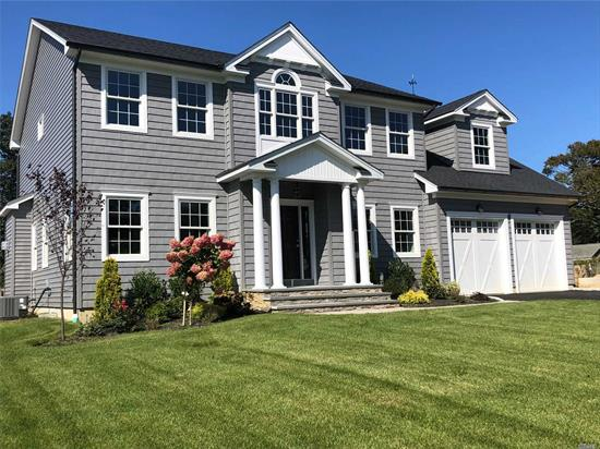 ONLY 2 HOMES LEFT! Beautiful New Construction In South Sayville! 3000 SF Of Living Space With HW Floors On First And Second Floors, 5th Bedroom/Office On Main Floor, Plus Full Bsmt And 440 Sf 2-Car Garage. Quality Construction And Attention To Detail! Lot Is Shy 1/2 Acre. Close to Beach, Marina, Ferries and Town! Survey, Plans And Specs Are Attached. Interior Photos Shown Are From A Recently Completed Home By JLP Associates, And Resemble What Will Be Built.