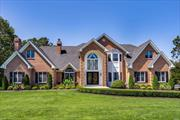 Beyond Magnificent Expanded 8300 Sq. Ft. Plus, Newly Reconstructed Smart House Post Modern Colonial With 6 Br, 3.5 Baths, Featuring A Master Suite W/ Bonus Rm., Gourmet Center Island Kitchen With Custom Cabinetry, Top Shelf Stainless Steel Appliances, All Season Sun Rm. W/Amazing Sprawling Living Space, 3 Gas Fireplaces, Finished Walk Out Basement Leading To A Country Club Backyard W/Free Form Ig Pool, Pool House W/Fpl.. Multi-Level Patios For Entertaining Plus Three Car Over-Sized Garage