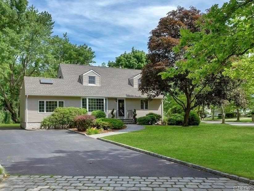 Beautifully Renovated And Spacious Expanded Cape Sits On A Park Like Property In Commack Schools. Large 4 Bedrooms, 2 Full Baths & Full Finished Basement. New Kitchen, Appliances, Baths, Roof, Electric, Windows, Siding, Hw Heater Etc...Vaulted Den Ceiling With Wood Burning Stove. Oversized Brick Lined Driveway & Stone Patio. Great Curb Appeal!! Proud To Call This Home. Taxes W/Star $12, 135. *Priced To Sell!! (Some Photos Have Been Virtually Staged)