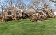 Wonderful Home on .59 Acres With 5 Brs, 2Brs On Main Level Including Master Bedroom And 2 1/2 Baths PLUS 3 Brs and 2 Baths On Second Floor., Wrap Around Deck. Tastefully Updated Through The Years, You Could Move Right In . Part Of The East Hills Park And Easy Commute.