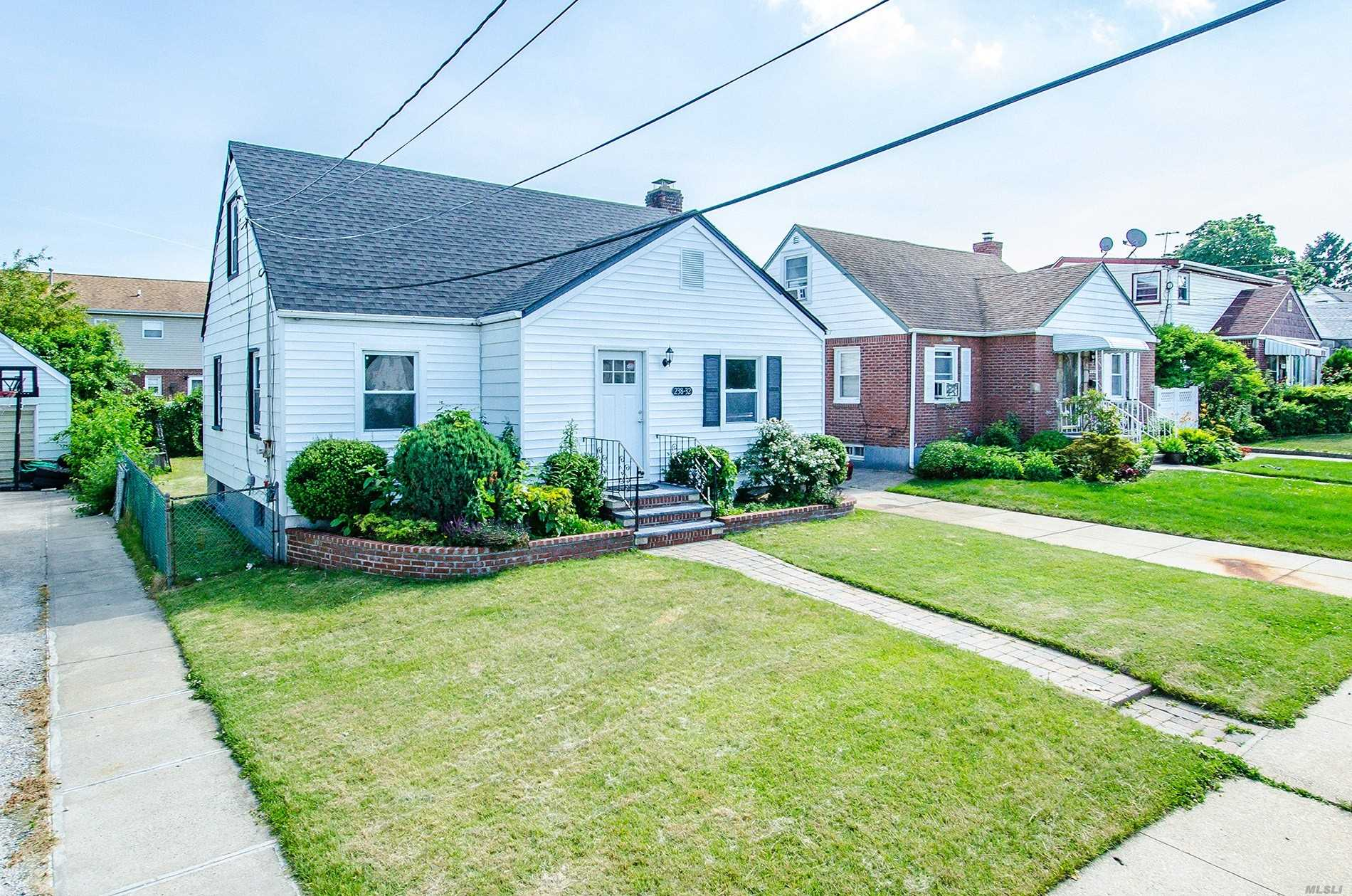 Completely Updated Expanded Cape. Private Yard Detached Garage. Sliders From Kitchen Onto Porch. Plenty Of Room For Everyone. New Everything Kitchen, Baths, Floors, Appliances, Full Finished Heated Basement With Ose. Near All