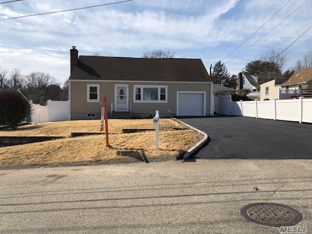 Move Right Into This Totally Updated Like New 5Br, 3Bth Cape In A Beautiful Quiet Are Of Glen Cove. All New Modern Eikk W/Granite Top, Stainless Steel Appliances, Full Finished Basement W/Ose. Cac, Hardwood Floors, Garage, Driveway For 6 Cars, Parking. Close To All! It's Also For Sale!