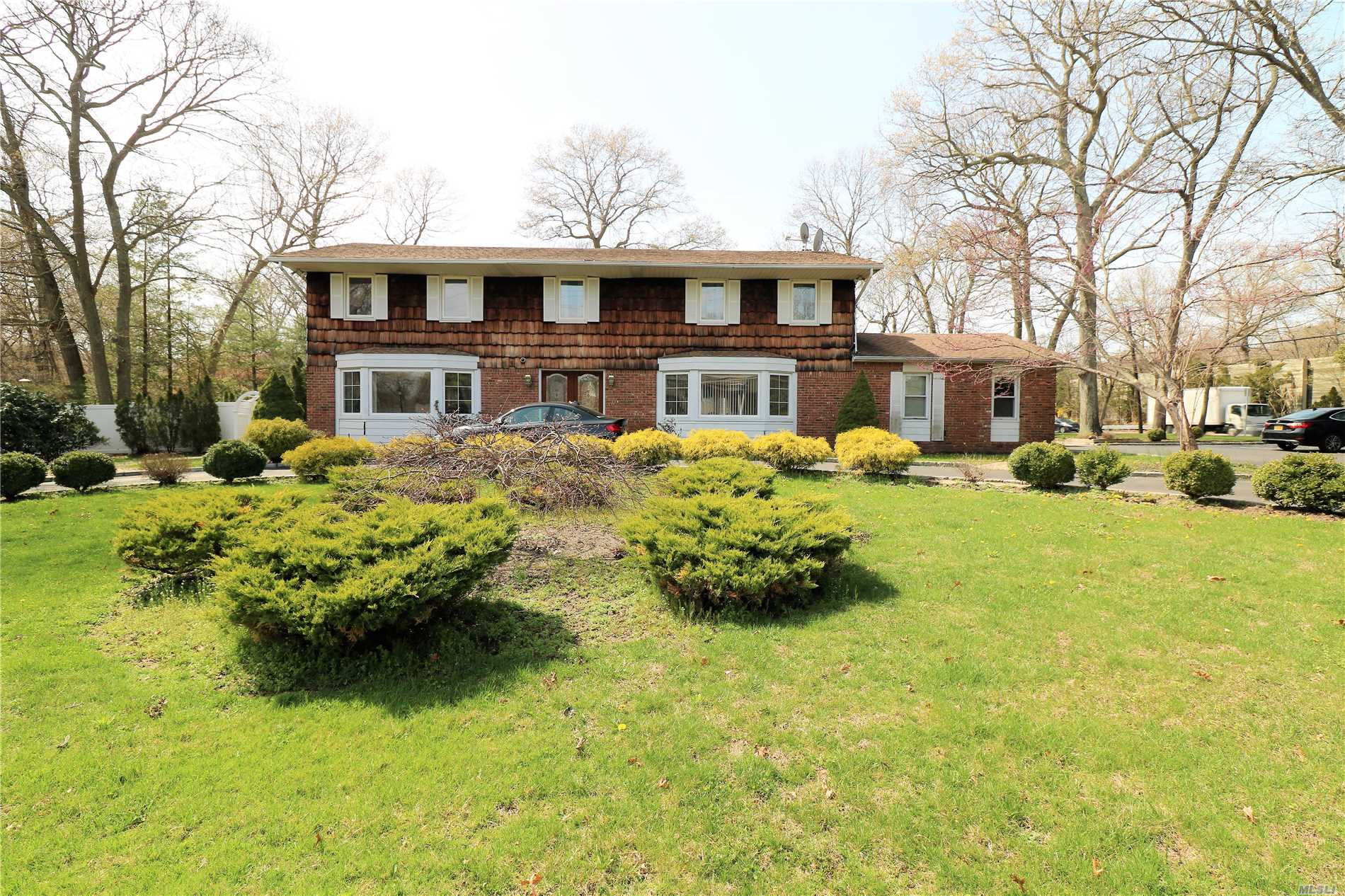 Grand Colonial With Professional Office Or Separate Guest Quarters! Main House Has Foyer W/ Grand Staircase! Large Flr & Fdr! Den With Fireplace & Sliders To Yard! Updated Gourmet Kitchen! 6 Bedrooms On The 2nd Floor! Master Br W/ En Suite! Full Basement! Pro - Office Has Waiting Room/Reception, 3 Small Offices, Kitchenette, .5 Bath & Big Office. Entertainers Yard With Lots Of Lawn!! Heat/Cac 4 Yrs! Roof 12 Years! Otsego, Candlewood, Hhh West TAX Reduction Letter Attached Approx $4, 000 Reduction
